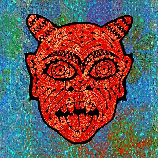 'Handsome Devil Mask #2' by ellejayerose