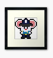 Pixel Mappy Framed Print