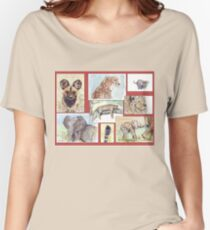 Lodge décor – South African wildlife collection Women's Relaxed Fit T-Shirt