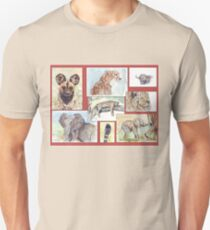 Lodge décor – South African wildlife collection Unisex T-Shirt