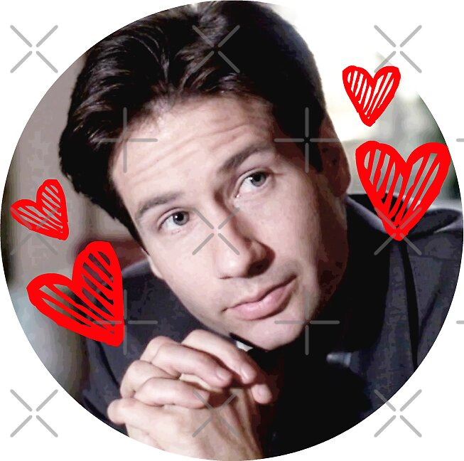 Quot I Love Fox Mulder Quot Stickers By Julia Gorst Redbubble