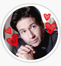 I Love Fox Mulder Sticker