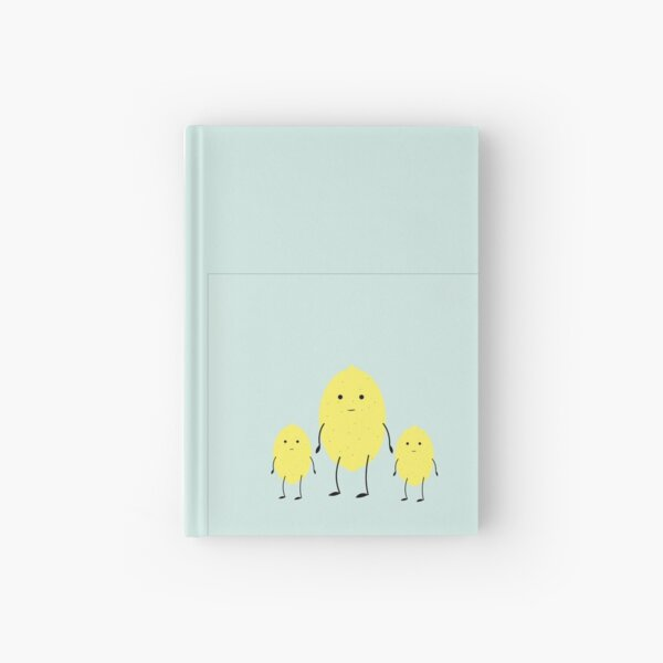 lemon Hardcover Journal