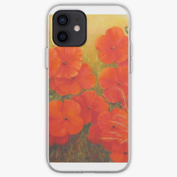 """""""Poppies - Tuscany"""" iPhone Soft Case"""