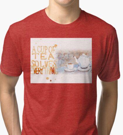 Eine Tasse Tee... Vintage T-Shirt