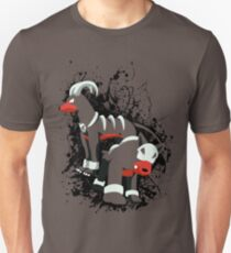 Houndour and Houndoom Splatter Unisex T-Shirt
