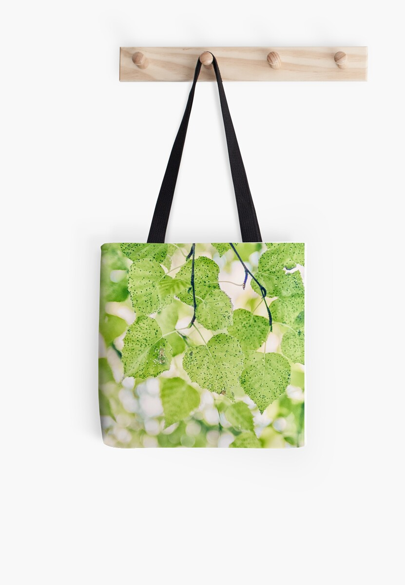 123 Lovely Green Leaves Mount Tomah by Shirley Steel