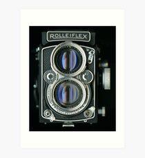 1956 ROLLEIFLEX 2.8D TWIN LENS REFLEX Art Print