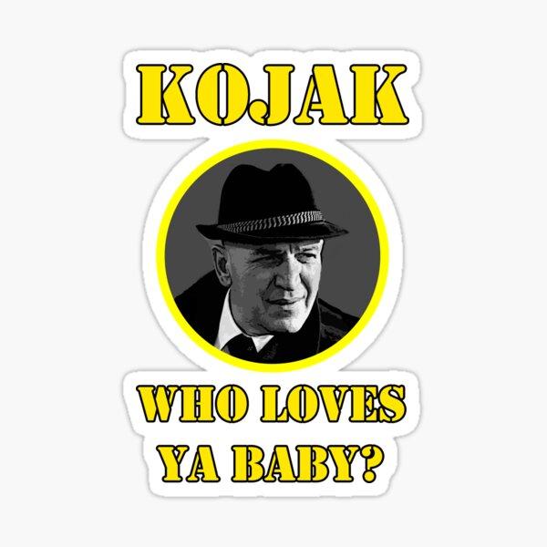 Kojak 70s series Sticker