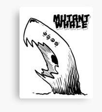Mutant Whale Canvas Print