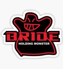 BRIDE Factory Black Sticker