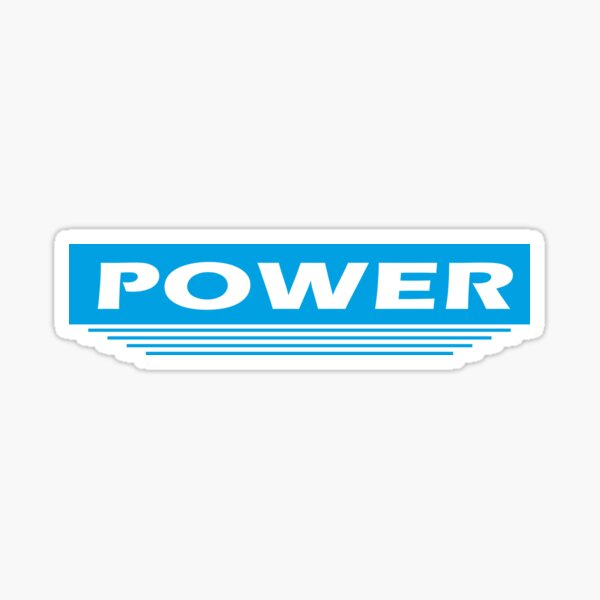 Powerline | Power | GRL PWR Sticker