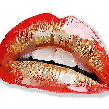 vector lips by bluefrog