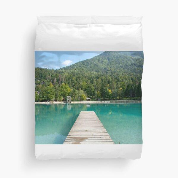 Refreshing water Duvet Cover