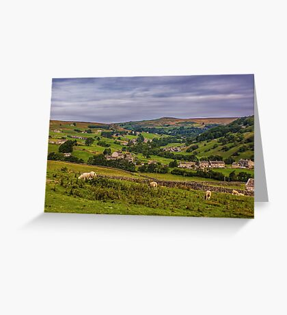 Arkengarthdale Yorks Dales Greeting Card