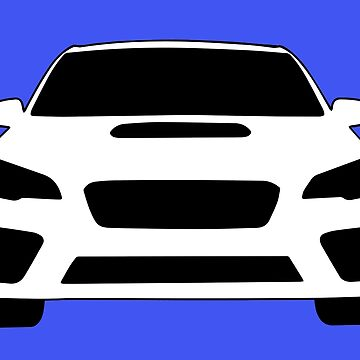2015+ Subaru WRX Sticker / Tee - Full Front Design by TheStickerLab
