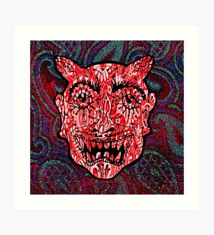 'Handsome Devil Mask #3' Art Print