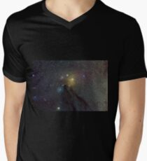 The Star Clouds of Rho Ophiuchi V-Neck T-Shirt