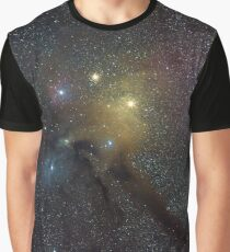 The Star Clouds of Rho Ophiuchi Graphic T-Shirt