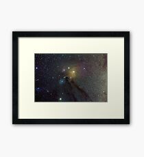 The Star Clouds of Rho Ophiuchi Framed Print