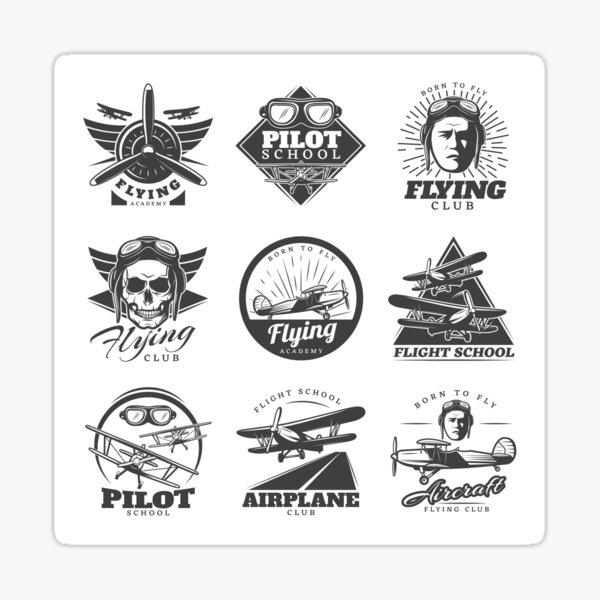 Flying Club Sticker