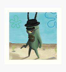 Lámina artística Plankton Heisenberg