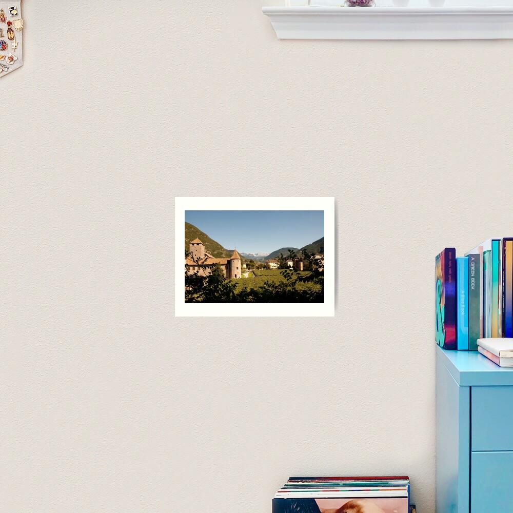 Castle Mareccio Vineyard, Bolzano/Bozen, Italy Art Print