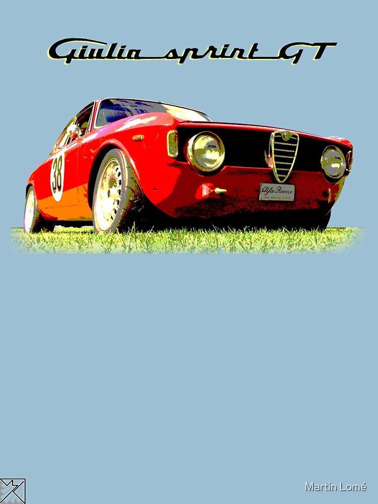 Alfa Romeo Giulia Sprint GT by MartinLome