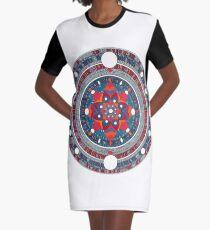 Mandala 007 Graphic T-Shirt Dress