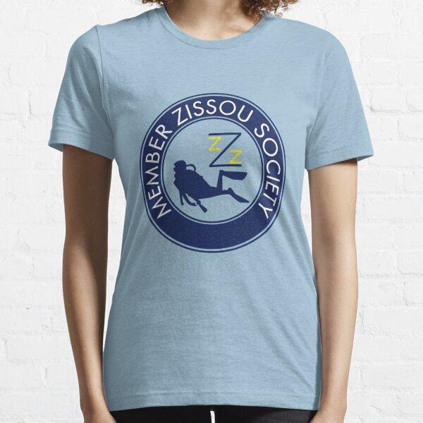 Miembro de la Sociedad Zissou Camiseta esencial