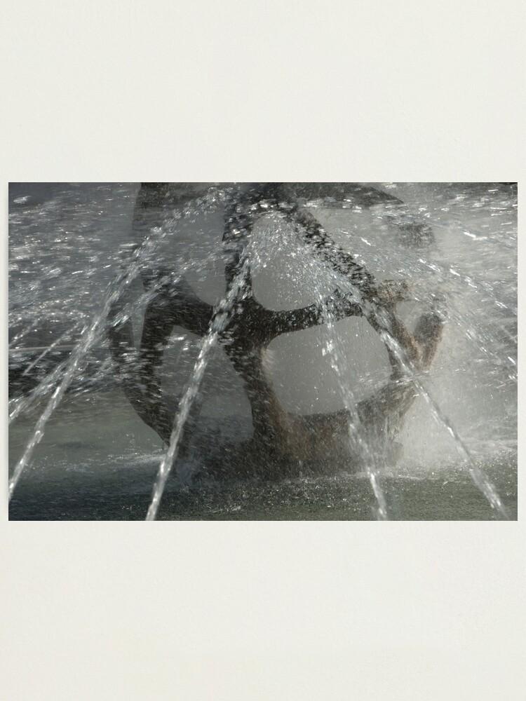 Alternate view of Fountain, Piazza Tribunale, Bolzano/Bozen Photographic Print