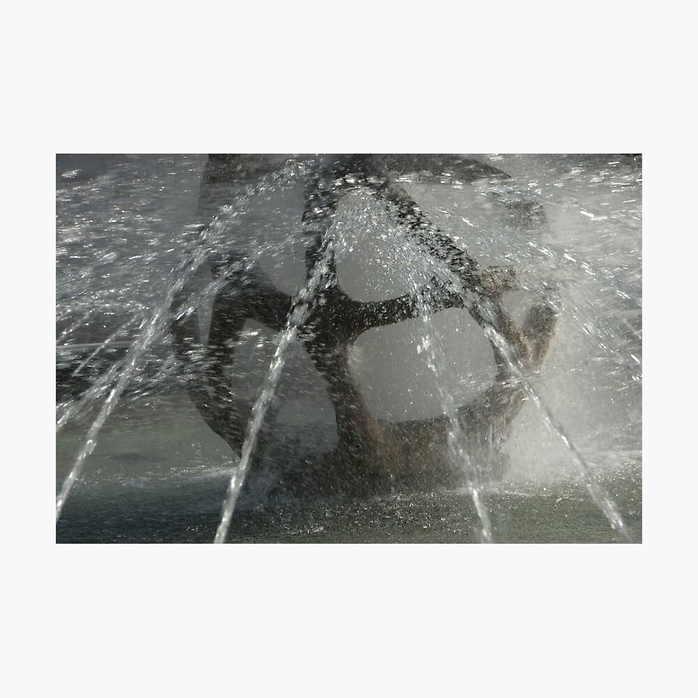 Fountain, Piazza Tribunale, Bolzano/Bozen Photographic Print