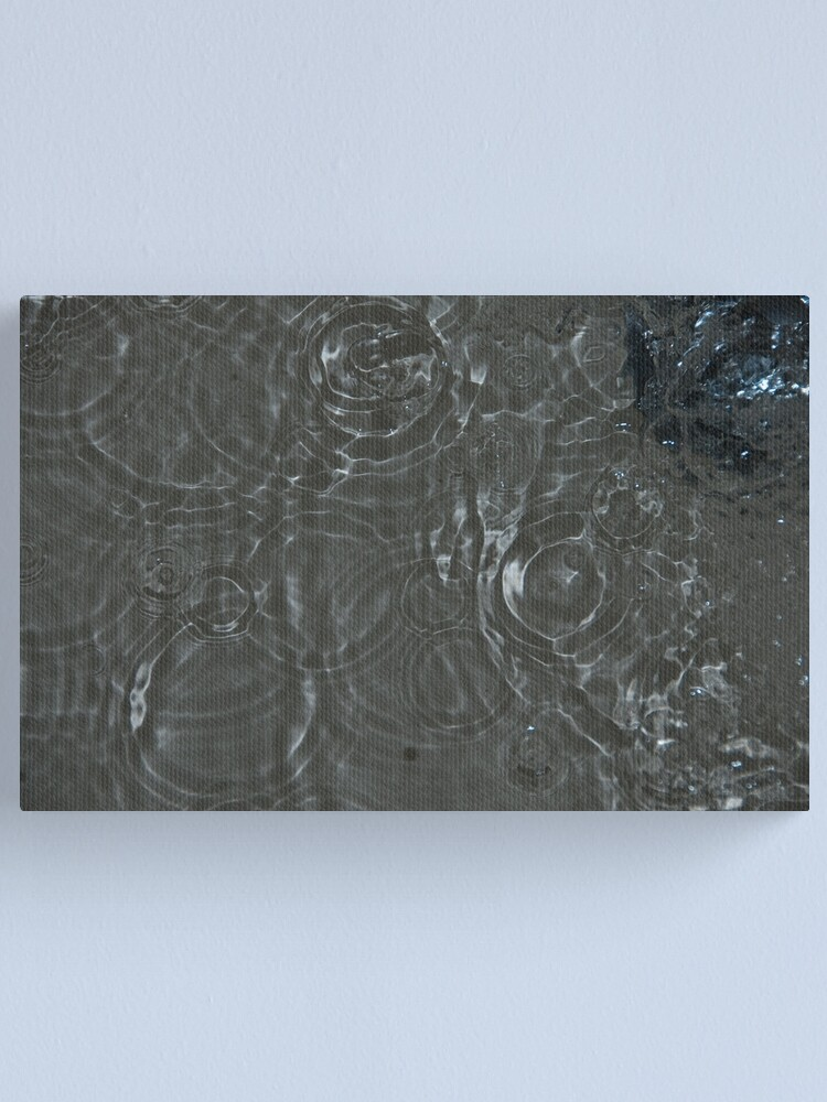 Alternate view of Bubbles in the Sink, Vancouver, British Columbia Canvas Print