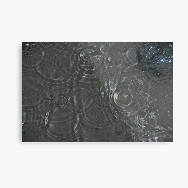 Bubbles in the Sink, Vancouver, British Columbia Metal Print
