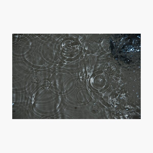 Bubbles in the Sink, Vancouver, British Columbia Photographic Print