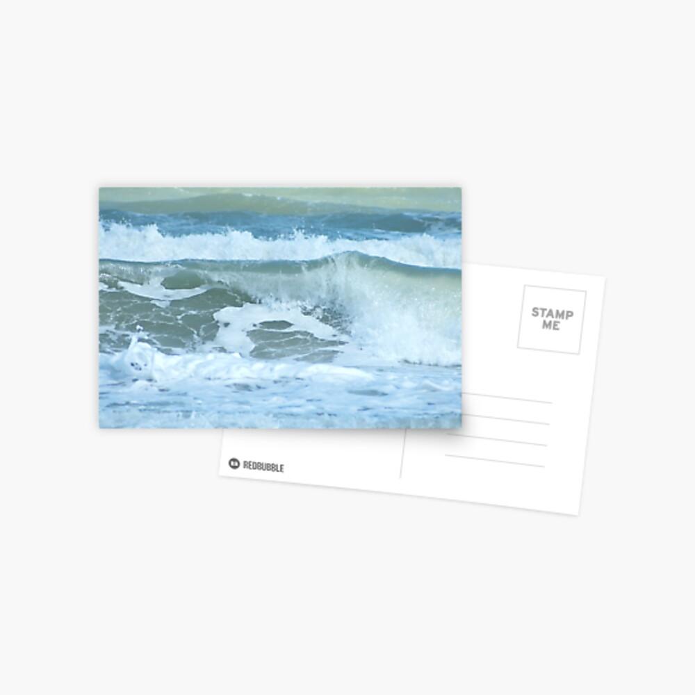 Sudden Surge, Melbourne Beach, Florida Postcard
