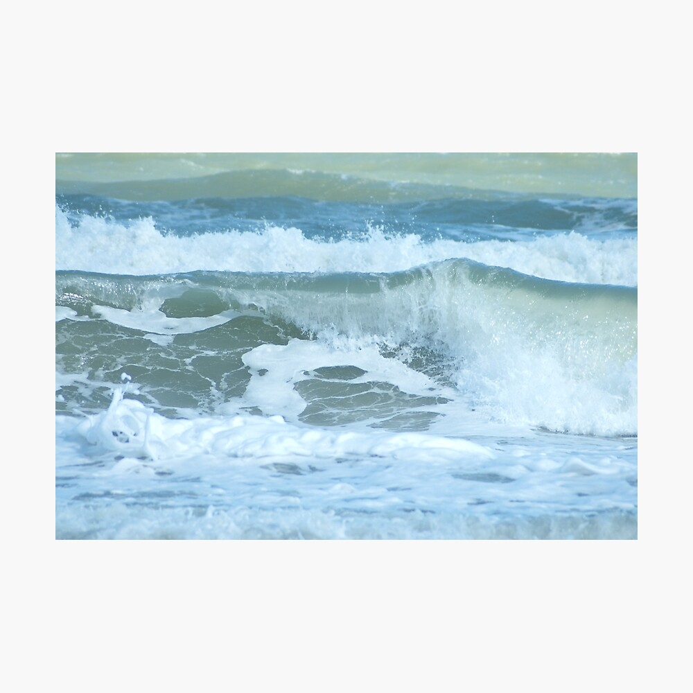 Sudden Surge, Melbourne Beach, Florida Photographic Print