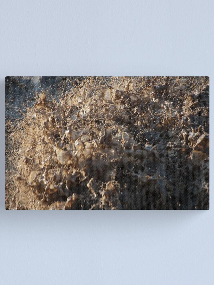 Alternate view of After the Storm, Talvera River, Bolzano/Bozen, Italy Canvas Print