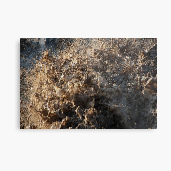 After the Storm, Talvera River, Bolzano/Bozen, Italy Metal Print