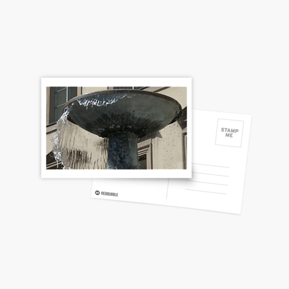 """Sheets of """"Glass"""", Munich, Germany Postcard"""