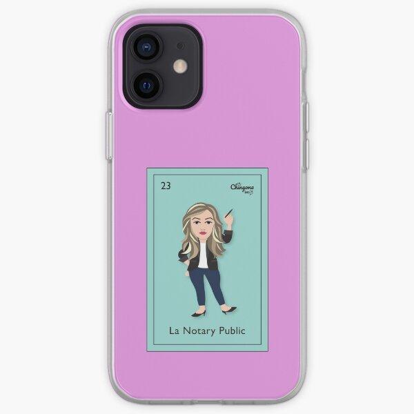 La Notary Public iPhone Soft Case