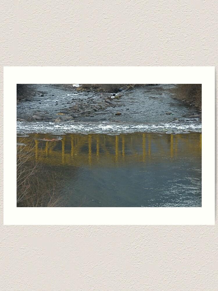 Alternate view of Bridge on the Talvera River, Bolzano/Bozen, Italy Art Print