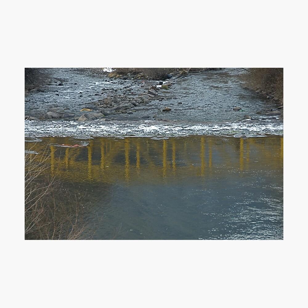 Bridge on the Talvera River, Bolzano/Bozen, Italy Photographic Print
