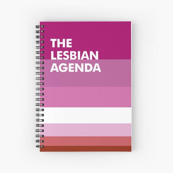 Agenda lesbien Cahier à spirale