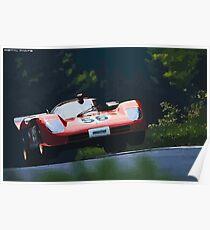Ferrari 512S at Nürburgring Poster