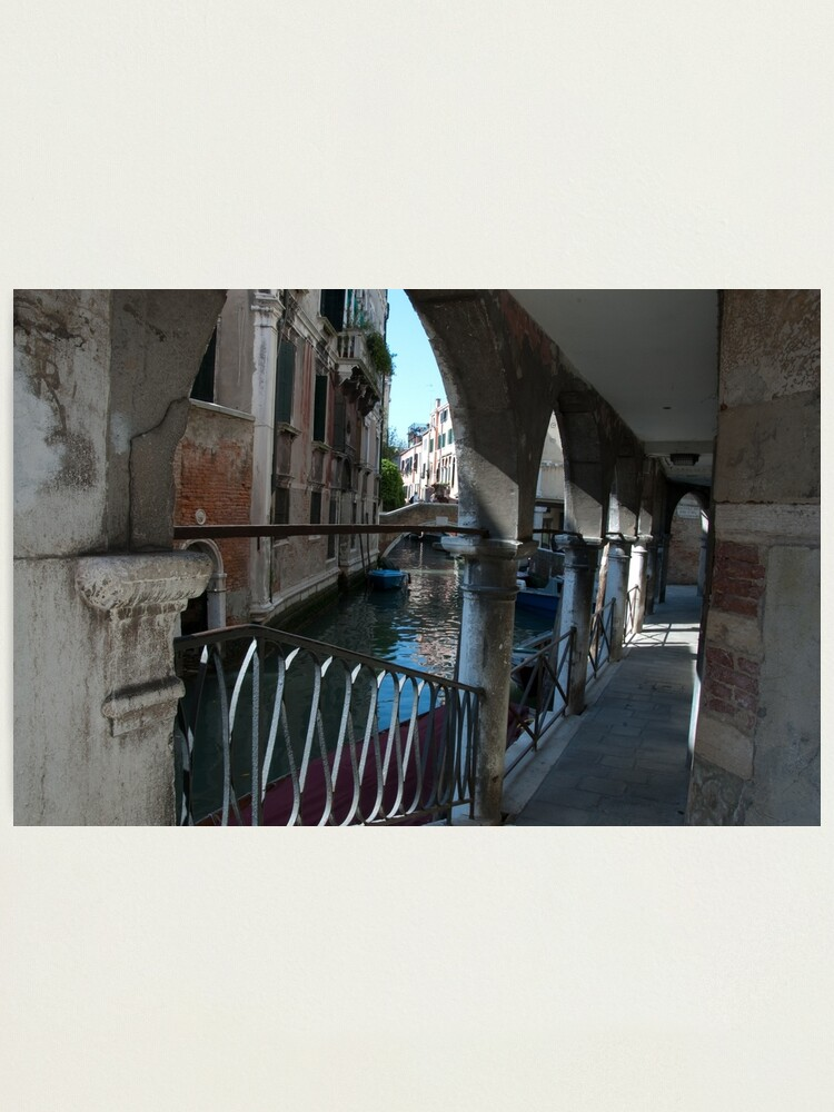 Alternate view of Venice Archways, Italy Photographic Print