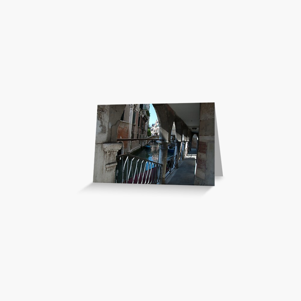 Venice Archways, Italy Greeting Card