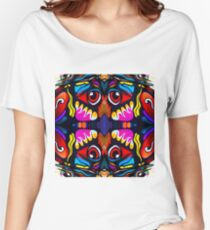 Bird Ornament Relaxed Fit T-Shirt