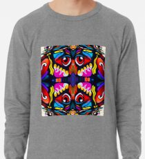 Bird Ornament Lightweight Sweatshirt