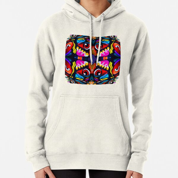 Bird Ornament Pullover Hoodie